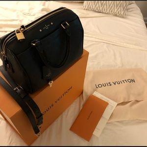 Louis Vuitton Speedy 25 Empreinte Leather Bag